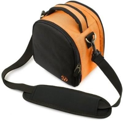 Vangoddy Laurel Camera Bag - Sony Cyber - Dslr Digital Cameras - IN_camlea036_k3  Camera Bag(Orange)  available at flipkart for Rs.4337