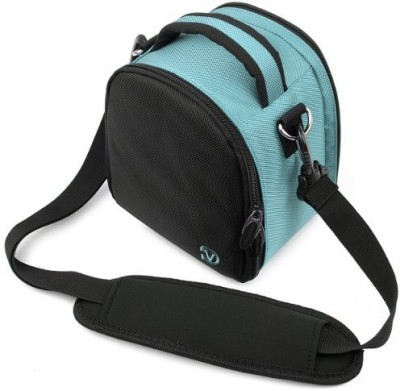Vangoddy Laurel Camera Bag - Sony Cyber - Shot Dslr Digital Cameras - IN_camlea038_k3  Camera Bag(Blue)  available at flipkart for Rs.4337