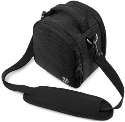 Vangoddy Laurel Camera Bag - Sony Cyber Dslr Digital Cameras - IN_camlea034_k3  Camera Bag(Black)  available at flipkart for Rs.4337