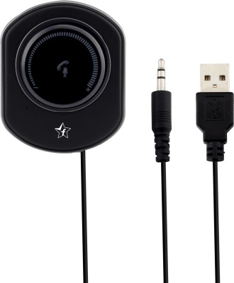 Flipkart SmartBuy v4.2 Car Bluetooth Device with USB Cable, Audio Receiver, 3.5mm Connector(Black)