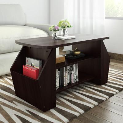 Valtos Engineered Wood Coffee Table(Finish Color - Wenge)