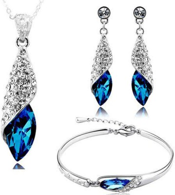 Up to 80% Off Blue Coloured Jewellery Sets Fashion Jewellery