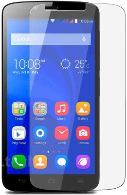 Hycot + Tempered Glass Guard for Huawei Honor 2 Plus premium series glass buy one get one combo
