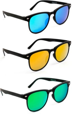 52c808e90b TheWhoop Wayfarer Sunglasses(Green