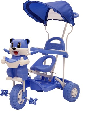 f711b056dc0 34% OFF on Oximus Kids Tricycle For baby With Canopy And Push Handle  Tricycle (Red) tricycle for baby gift 503Red Tricycle(Red) on Flipkart |  PaisaWapas.com