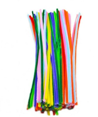 OZ STORE multi colored pipe cleaner 25 pcs for art & craft