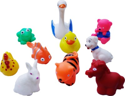 Toys factory CHUCHU SQEEZE TOYS Bath Toy(Multicolor)