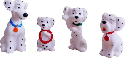 Toys factory CHUCHU DOG SET Bath Toy(Multicolor)
