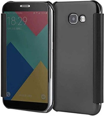 TGK Flip Cover for Samsung Galaxy A5 2016 Edition(Black, Shock Proof)