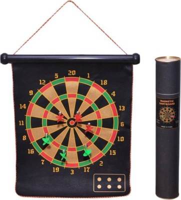 N.VCOMMUNICATION24X7 Magnetic Dart Board with 6 Magnetic Darts (Multicolor, Pack of1) Convertible Tip Dart(Multicolor, Pack of1)