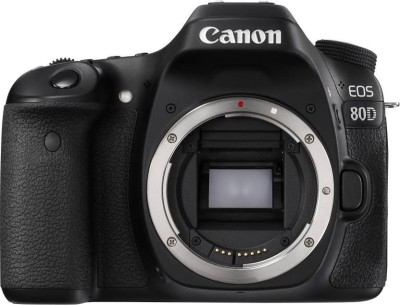 Canon EOS 80D DSLR Camera (Body Only) (16 GB SD Card)(Black)