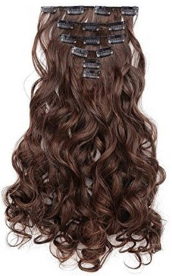 Fully Curly 6 Pcs And 14 Clips Extension For Short Women And Girls Hair Extension
