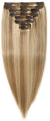 Fully Human Extensions | Extensions for Women Real 16 inches 50 Grams (Blonde Highlighting) Extension  Extension Hair Extension