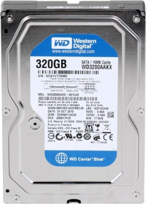 wd Internal 320 GB Desktop Internal Hard Disk Drive (Model Number May Vary)