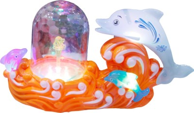 Toys Factory DOLPHIN MUSIC FOUNTAIN(Multicolor)