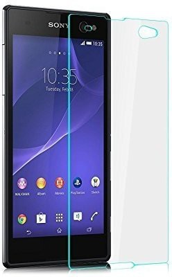 MOBIVIILE Tempered Glass Guard for Sony Xperia C3 / Sony Xperia C3 Dual SIM(Pack of 1)