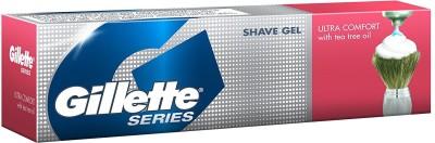 Gillette Ultra Comfort Pre Shave Gel Tube - 60g