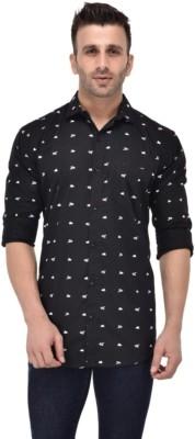 Dare2B Men's Printed Casual Spread Shirt
