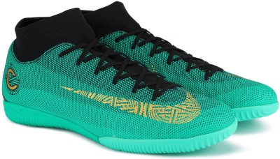 Nike SUPERFLY 6 ACADEMY CR7 IC Football Shoes For Men(Green) 1
