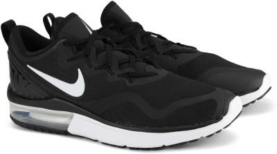 Nike NIKE AIR MAX FURY Sneakers For Men(Black, White) 1