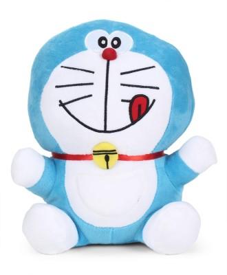 Doraemon Plush ( Smiling With tounge Out)  - 25 cm(Blue)