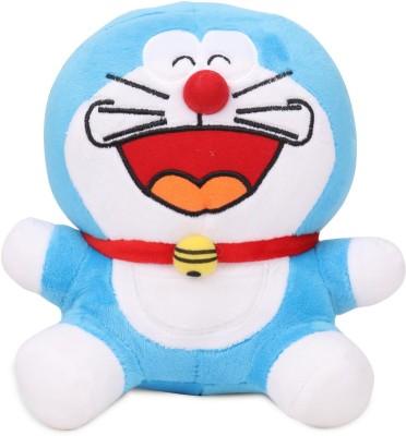 Doraemon Plush (Laughing)  - 20 cm(Multicolor)