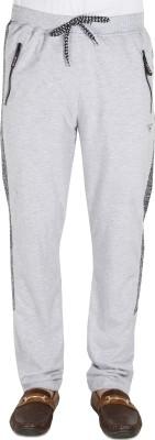 AVR Solid Men's White Track Pants