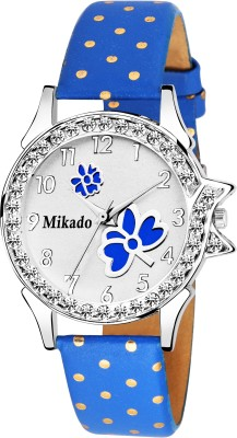 Mikado Peacock Dial With Artistic design strap Women watch Watch  - For Women