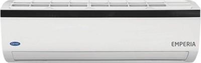 Carrier 1.5 Ton 3 Star BEE Rating 2018 Split AC  - White(Emperia 3i, Copper Condenser)