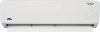 Carrier 1.5 Ton 3 Star BEE Rating 2018 Split AC - White(SUPERIA PRO 3i HYBRID, Copper Condenser) 1