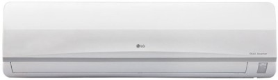 LG 1.5 Ton 3 Star BEE Rating 2018 Inverter AC White, JS-Q18MUXD, Copper Condenser