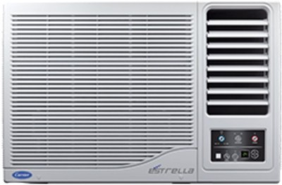 Carrier 1.5 Ton 3 Star Window AC  - White(ESTRELLA, Copper Condenser)