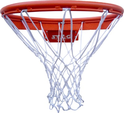 Stag DOUBLE SPRING ,SOLID STEEL Basketball Ring(7 Basketball Size With Net)
