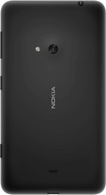 G-TONG Back Replacement Cover for Nokia Lumia 625(Black, Grip Case, Plastic)