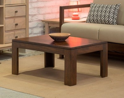 The Jaipur Living Hex Solid Wood Coffee Table(Finish Color - Honey Brown)