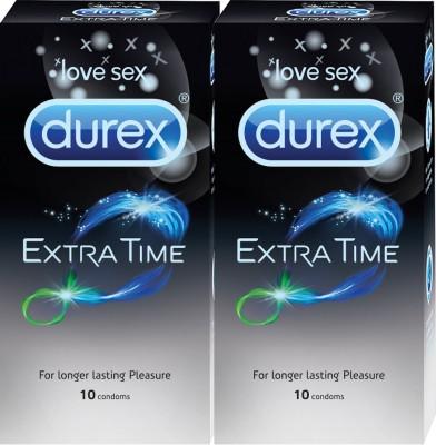 Durex Extra Time Condom(Set of 2, 20S)