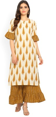 Libas Women Kurta and Palazzo Set at flipkart