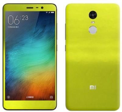 SLICKWRAPS Mi Redmi Note 4 Mobile Skin Lemon Green
