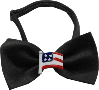Mirage Pet Products Bow for Dog(Black