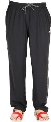 AVR Solid Men's Black Track Pants