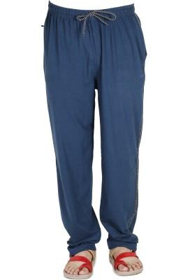 AVR Solid Men's Dark Blue Track Pants