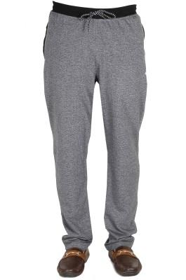 AVR Self Design Men's Grey Track Pants