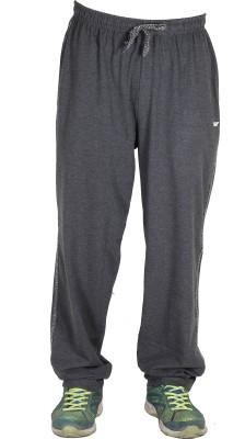 AVR Solid Men's Grey Track Pants