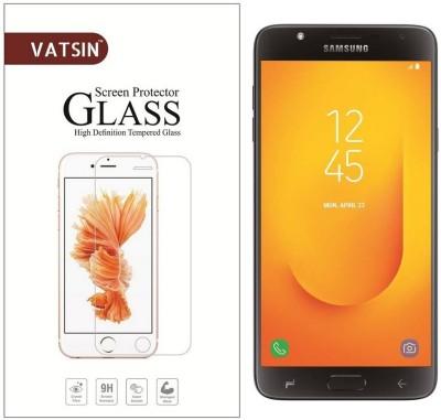 Vatsin Tempered Glass Guard for Samsung Galaxy J7 Duo, Samsung Galaxy J7 Duo(Pack of 1)