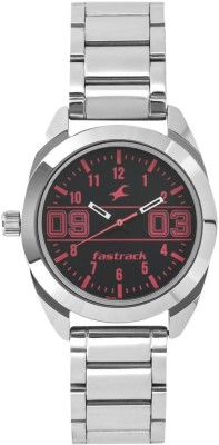 Fastrack 6171SM01 Varsity Analog Watch   For Women Fastrack Wrist Watches