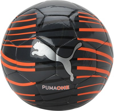 Puma ONE WAVE BALL Football - Size: 5(Pack of 1, Black)