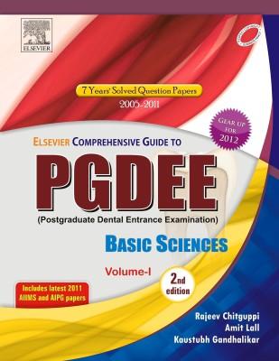 Elsevier Comprehensive Guide for PGDEE Basic Sciences (Volume 1) 2nd Edition(English, Paperback, Rajeev Chitguppi, Amit Lall)