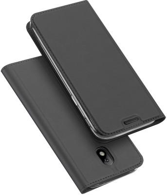 Kapa Flip Cover for Samsung Galaxy J7 Pro(Black)