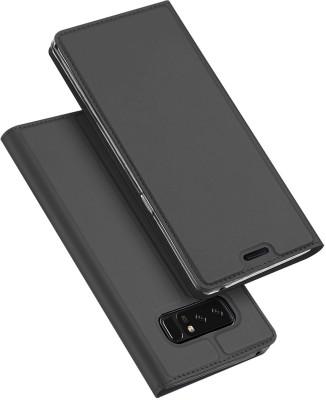 Kapa Flip Cover for Samsung Galaxy Note 8(Black)