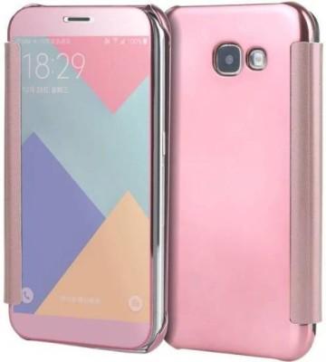 TGK Flip Cover for Samsung Galaxy J7 Max(Pink, Shock Proof)